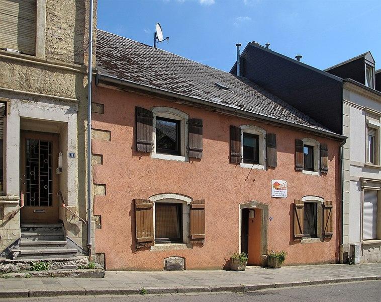 The oldest house of Rumelange (1767), 10 rue de l'église