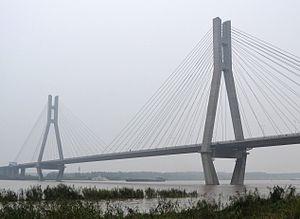 Runyang Yangtze River Bridge - North bridge