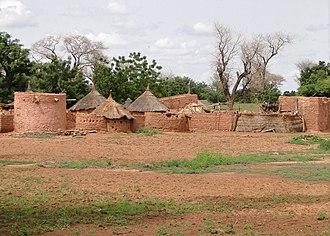 Sahel Region - Huts in the region
