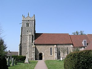 Rushmere St Andrew - Image: Rushmere St Andrew geograph.org.uk 4669