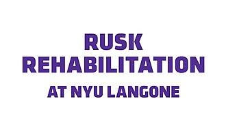 Rusk Institute of Rehabilitation Medicine - Image: Rusk logo
