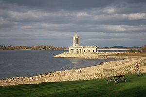 Rutland Water - Image: Rutland Water at Normanton
