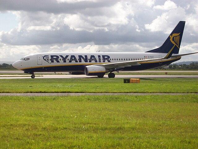Компания Ryanair объявила о начале продажи билетов на лето 2019 года