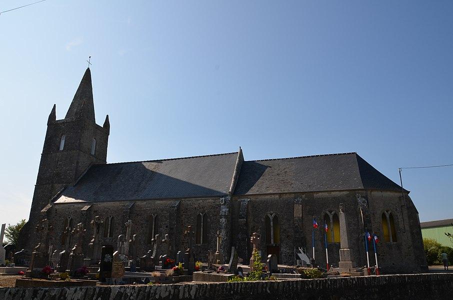 Église Saint-Lô de Sénoville.