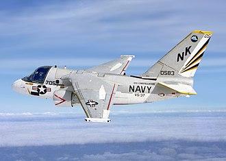 Lockheed S-3 Viking - An S-3A Viking from the anti-submarine squadron VS-37 Sawbucks