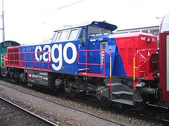 SBB Cargo - Image: SBB AM 843 2