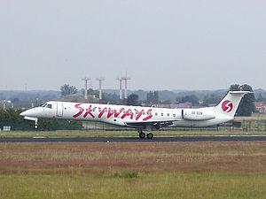 Skyways (airline) - Skyways Express Embraer ERJ 145
