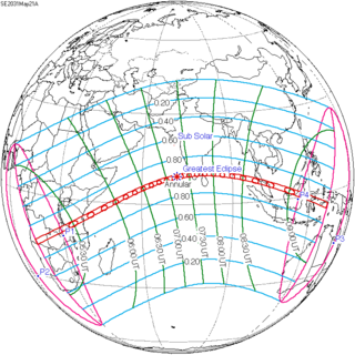 Solar eclipse of May 21, 2031