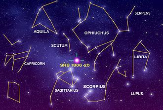 SGR 1806-20 - Image: SGR 1806 20 108685main SRB1806 20rev 2