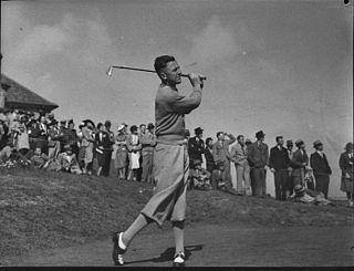Bobby Locke South African golfer