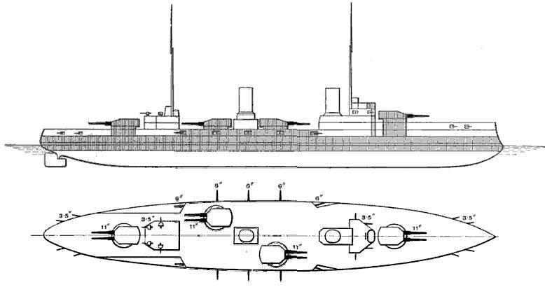 SMS Von der Tann Brassey%27s 1913