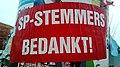 SP-stemmers bedankt! Poster, Winschoten (2019).jpg