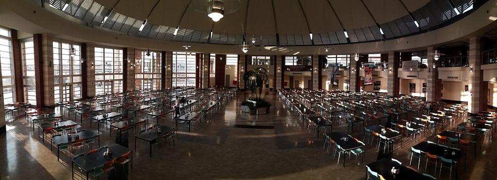 Sabanci dining hall