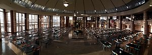 Sabancı University - Panoromic view of dining hall