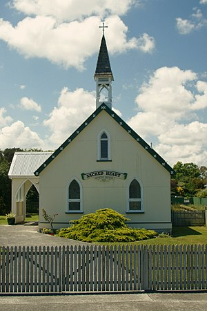 Manawatu District - Sacred Heart Catholic Church, Rongotea (c. 1895)