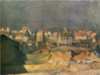 SaekiYūzō-1924-Distant View of Paris.png