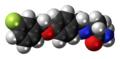 Safinamide molecule spacefill.png