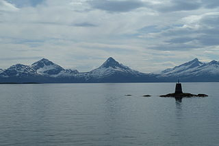 Sagfjorden (Nordland) fjord in Nordland, Norway