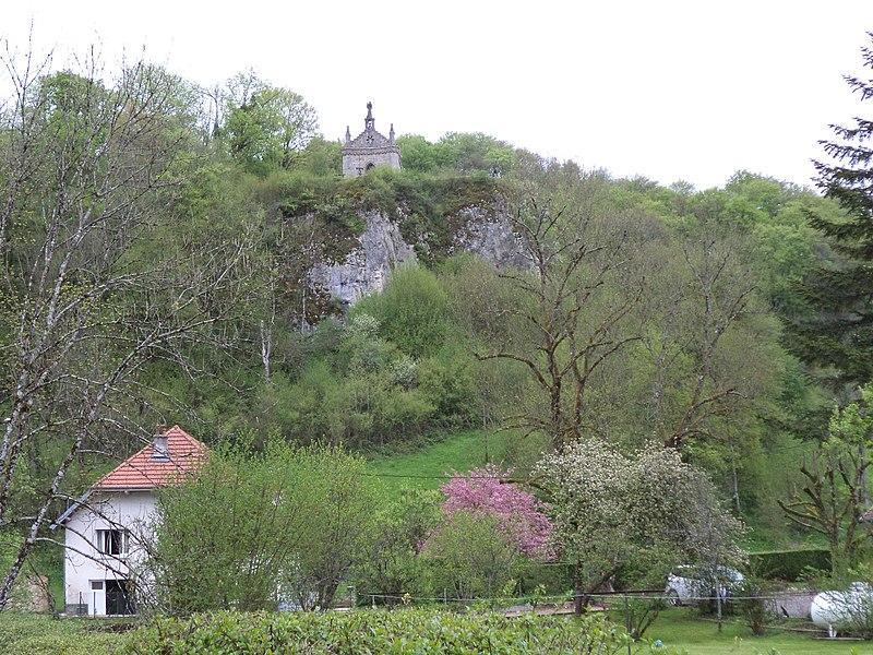 Saint-Ermenfroi-Chapelle un Cusance, Massif du Jura, Franche-Comté