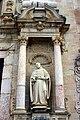 Saint Benedict of Nurcia - Church entrance - Monastery of Poblet - Catalonia 2014 (2).jpg