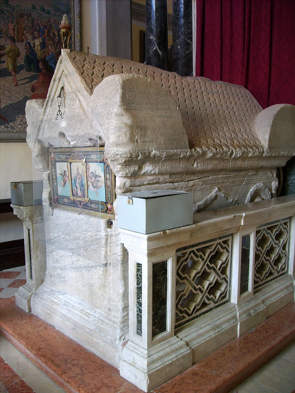 Saint Euphemia Sarcophagus in Rovinj, Croatia 2006-08-28