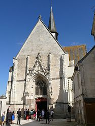 The church of Sainte-Catherine, in Sainte-Catherine-de-Fierbois