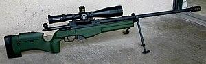 Sako TRG - A Sako TRG-42 sniper rifle