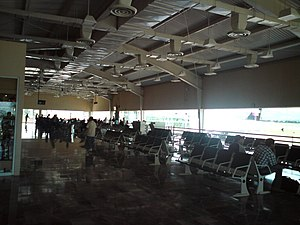 Del Bajío International Airport - Airport's gate.