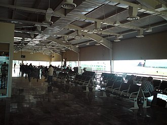 Del Bajío International Airport - Airport's gate.