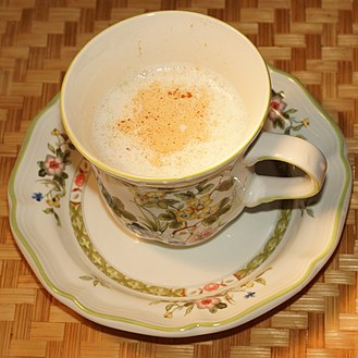 Salep - Salep drink.