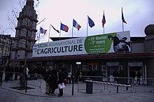 Paris expo porte de versailles wikip dia - Prix d entree du salon de l agriculture ...