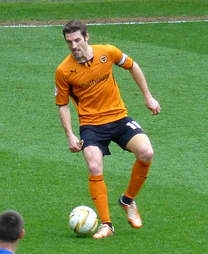 Sam Ricketts - Ricketts playing for Wolverhampton Wanderers in 2014