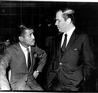 Leroy Griffith - Griffith with Sammy Davis, Jr. (circa 1966).
