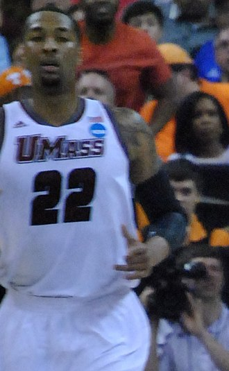 Sampson Carter - Carter playing for UMass