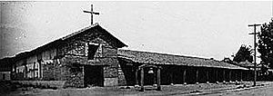 Mission San Francisco Solano (California) - Mission San Francisco Solano circa 1910