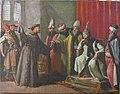 San Francisco ante el sultán de Egipto, Malec-El-Kamal, de Zacarías González Velázquez (Museo Lázaro Galdiano, Madrid).jpg