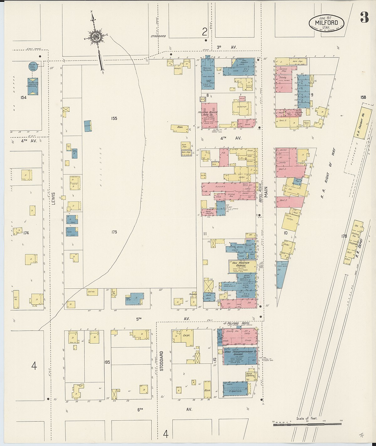 File:Sanborn Fire Insurance Map From Milford, Beaver
