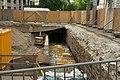 Sanierung des unterirdischen Rückhaltebeckens der Pleiße am Dittrichring - Käthe-Kollwitz-Straße - panoramio.jpg