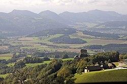 Sankt Georgen Steinberg-Oberhaus Burgruine Stein 03102012 553.jpg