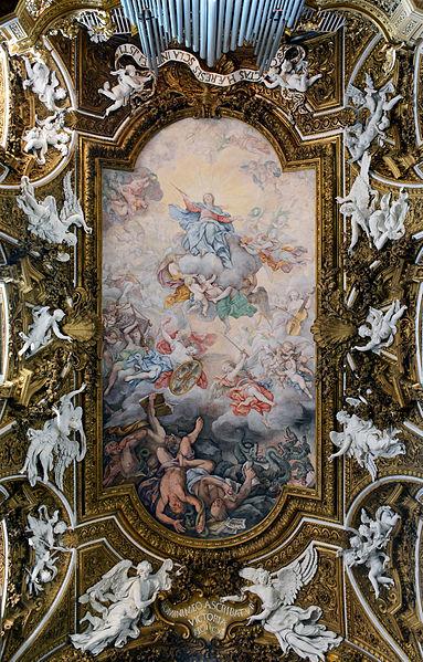 Santa Maria della Vittoria in Rome - Ceiling