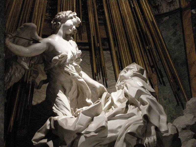Giovanni Lorenzo Bernini - Page 2 800px-Santa_teresa_di_bernini_04