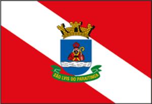 São Luiz do Paraitinga - Image: Saoluizdoparaitinga bandeira