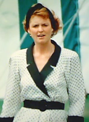 Sarah, Duchess of York - The Duchess of York at the Royal Welsh Show, 1991