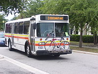 Sarasota County Area Transit Orion I bus.JPG