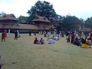 Chirayinkeezhu City in Kerala, India