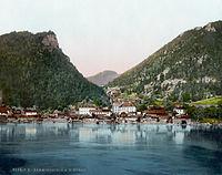 Sarmingstein 1900.jpg