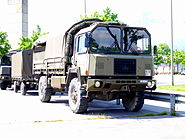 Saurer with trailer