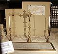 Scavi di santa reparata sotto il duomo di firenze, tomba di filippo brunelleschi 01.JPG