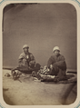 Scenes at the Samarkand Square, or the Registan, and Its Market Types. Grilling Kebab (Chopped Beef) WDL10883.png