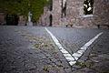 Schattenlinie Dorothee von Windheim Aegidienkirche memorial Breite Strasse Mitte Hannover Germany 01.jpg